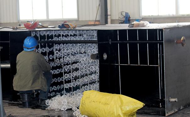 一体化污水处理设备填料安装