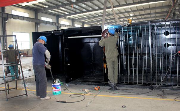 一体化污水处理设备膜的安装