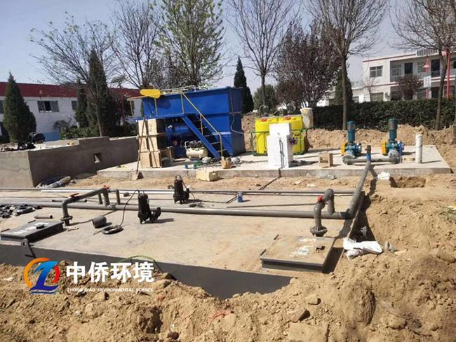 屠宰污水处理工程安装现场