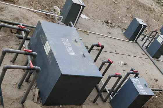 地埋式医院污水处理设备使用现场