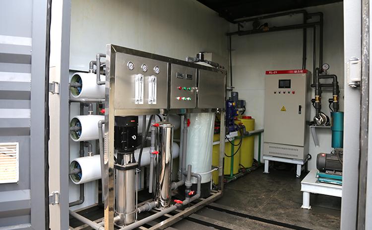 地埋式污水处理设备运行中的设备间