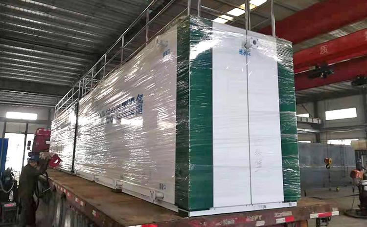 污水处理设备安装施工方案