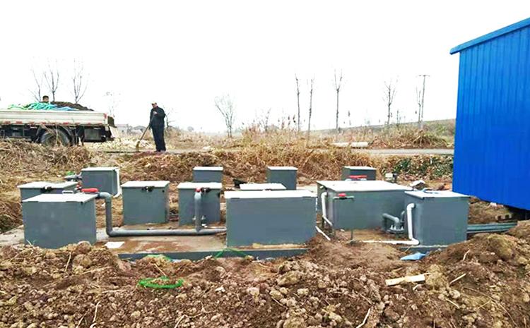 河北沧州地埋式污水处理设备安装图片