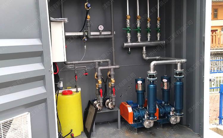 地埋式污水处理设备进出水指标