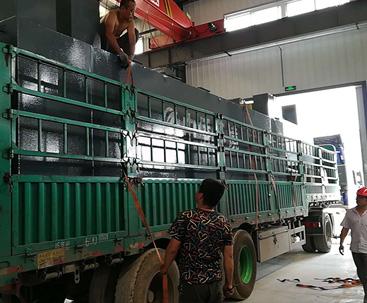 北京水厂地埋式污水处理设备发货