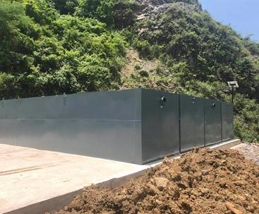 一体化污水处理设备_贵州项目