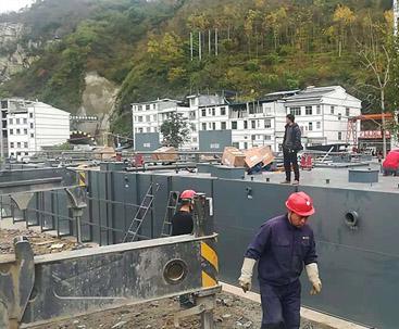贵州mbr一体化污水处理设备