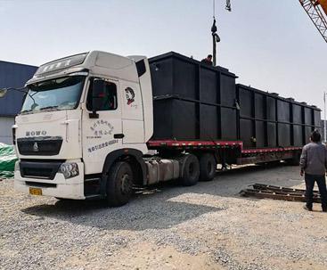 内蒙地埋式污水处理设备发货