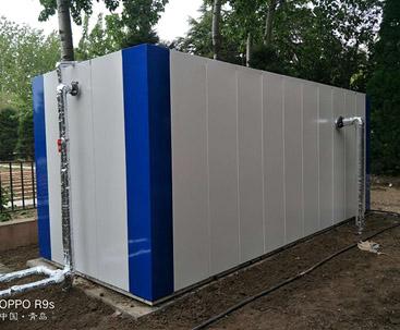 一体化污水处理设施使用现场