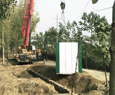 广东一体化污水处理设备项目案例