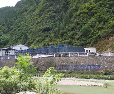 贵州印江4000方一体化污水处理设备项目