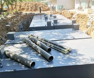 万宁地埋式污水处理设备